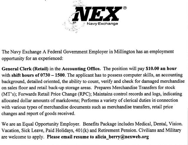 Navy Exchange Guam Employment Openings