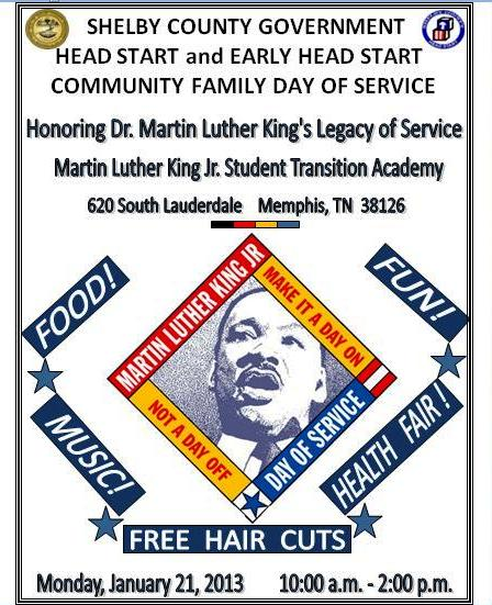 Head Start Free Hair Cuts 2013