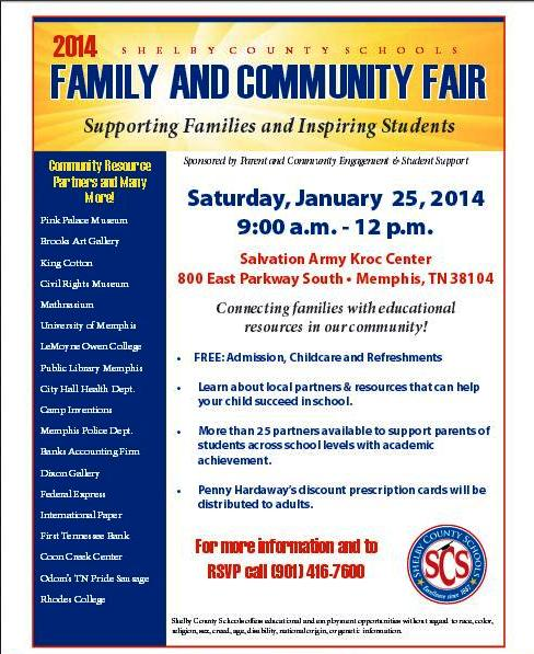 SCS Family and Community Fair
