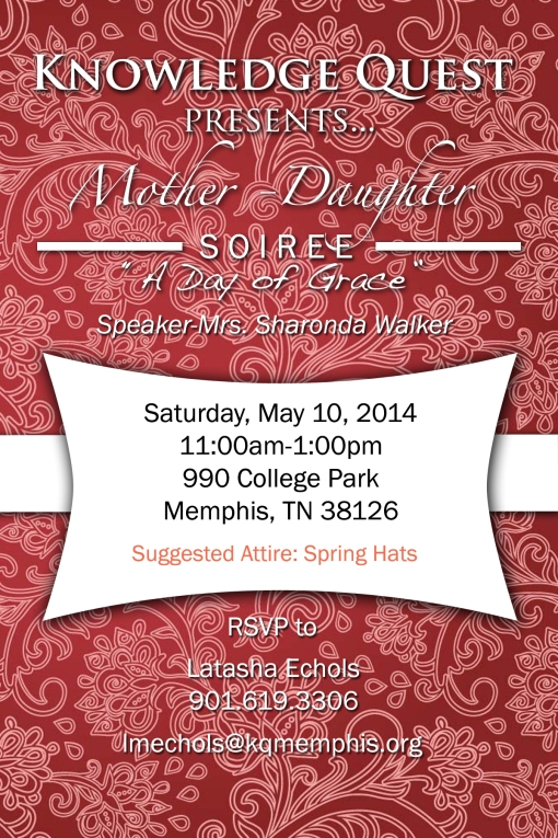 Mother - Daughter Soiree