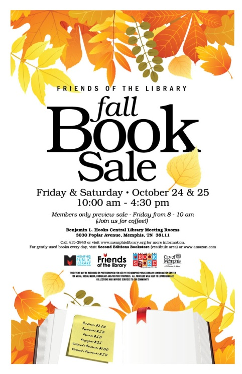 library fall book sale