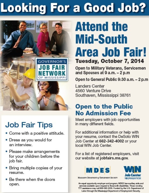 Job Fair Southaven 10/7