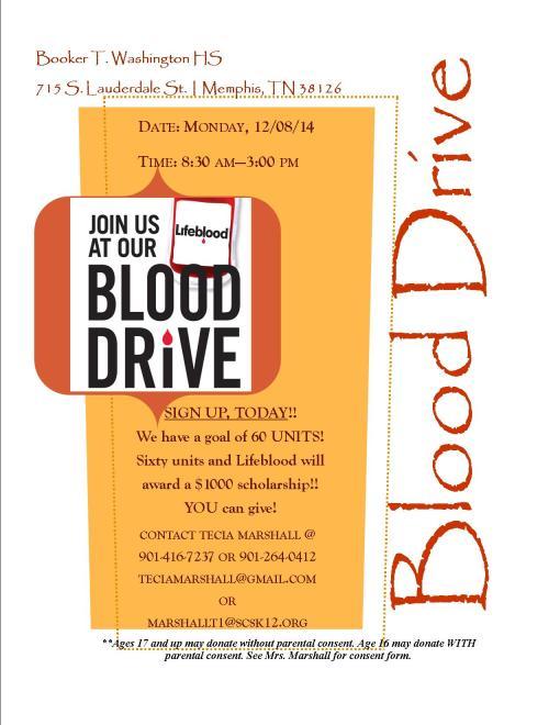 BTW Blood Drive