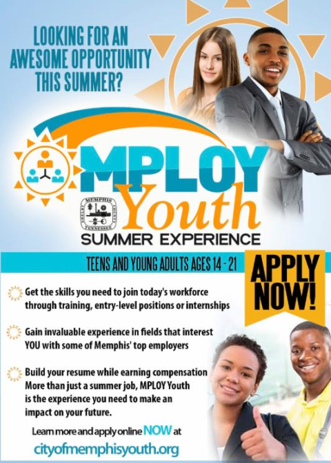 city of memphis youth employment