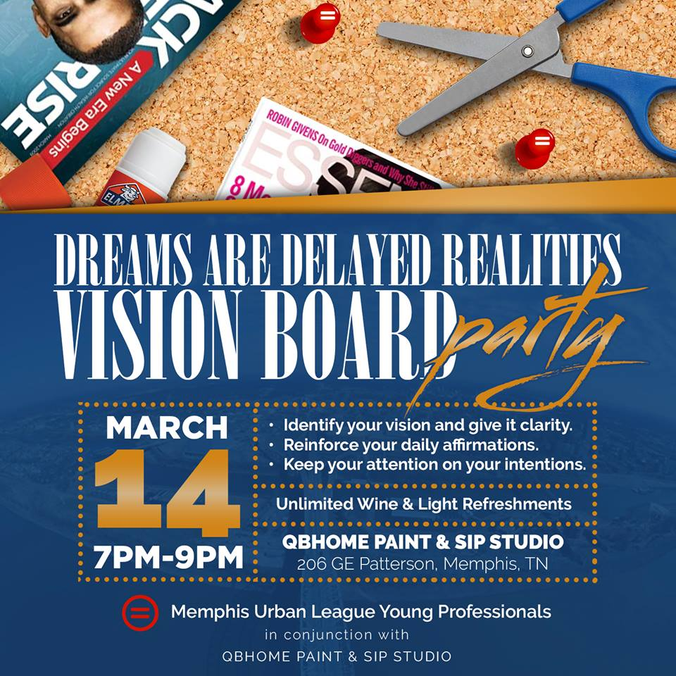 Vision Board Strategy Workshop | Dare to Dream Big Tickets ... |Events Vision Board