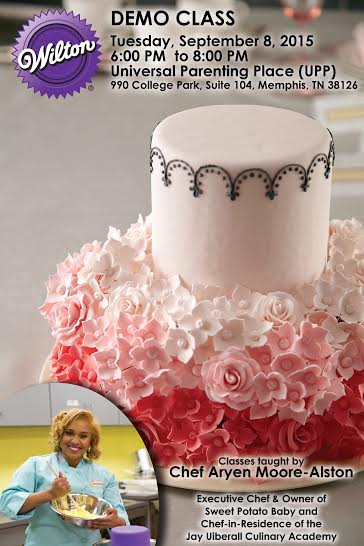 Cake Decorating Demo Class   Tuesday, September 8, 2015 ...