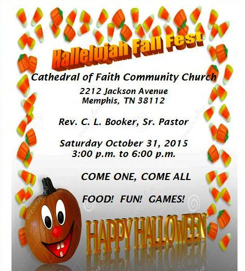 Cathedral of Faith Hallelujah Fall Fest