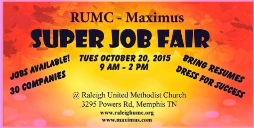 RUMC Job Fair