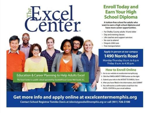 Excel Center Adlut HS Diploma Program