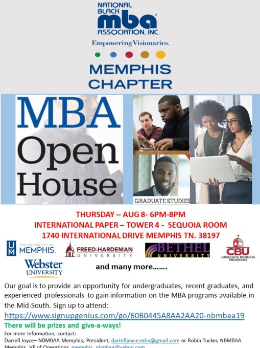 2019 MBA open house